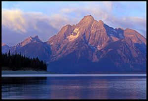 Mount Moran in Grand Teton National Park for Attributes of God of the creation ministry speaking topics